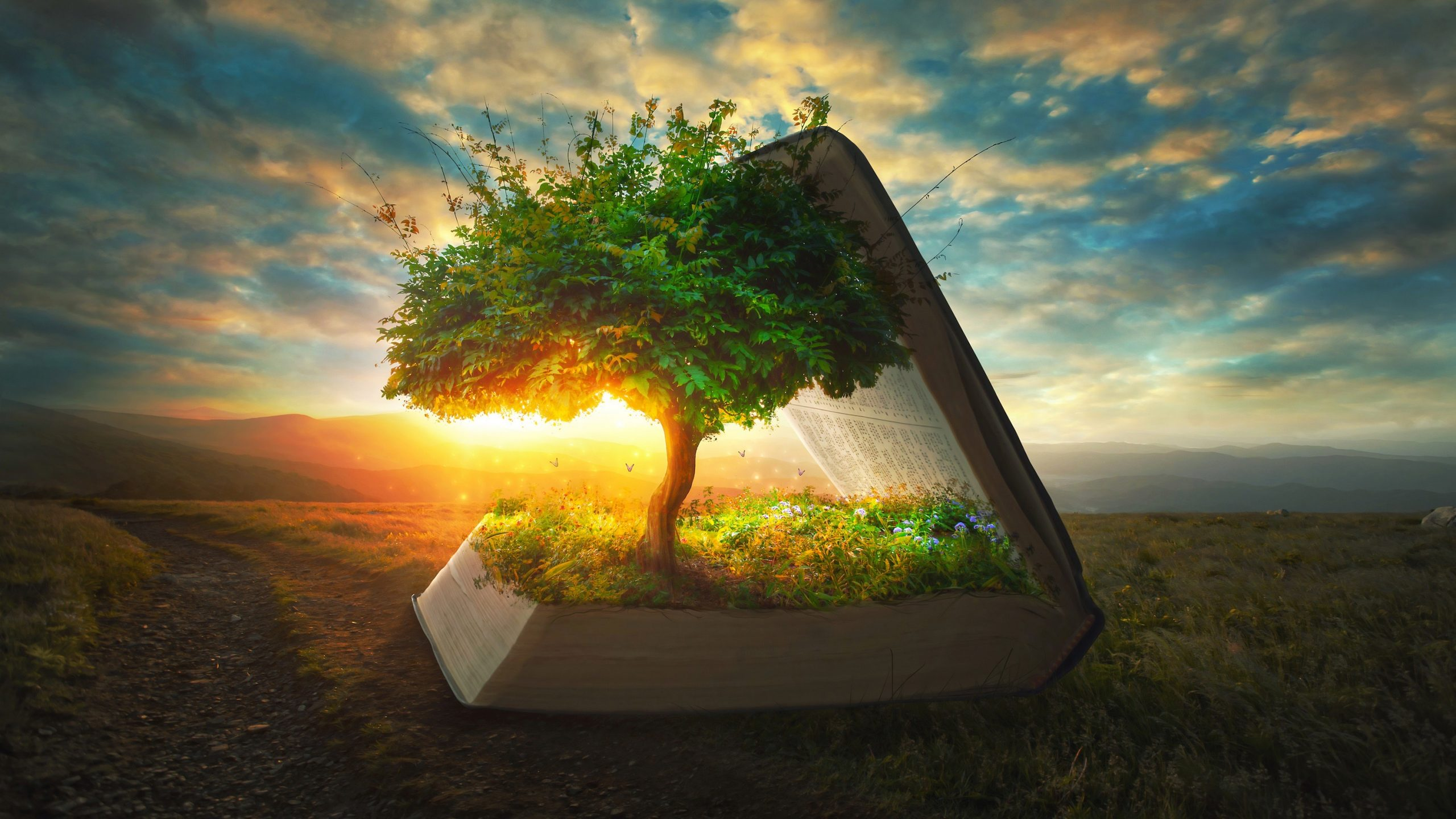 Story springing from Bible